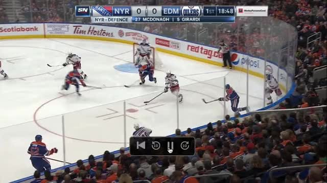 Watch and share Lucic Mistake GIFs by cultofhockey on Gfycat
