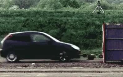 Watch Car crash at 120 mph . (reddit) GIF on Gfycat. Discover more beamazed GIFs on Gfycat