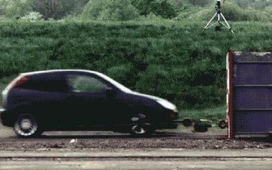 beamazed, Car crash at 120 mph . (reddit) GIFs