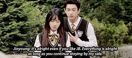 Watch and share Dream Knight GIFs and Jinyoung GIFs on Gfycat