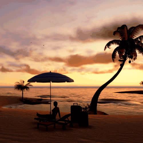 beach, nature, beach GIFs