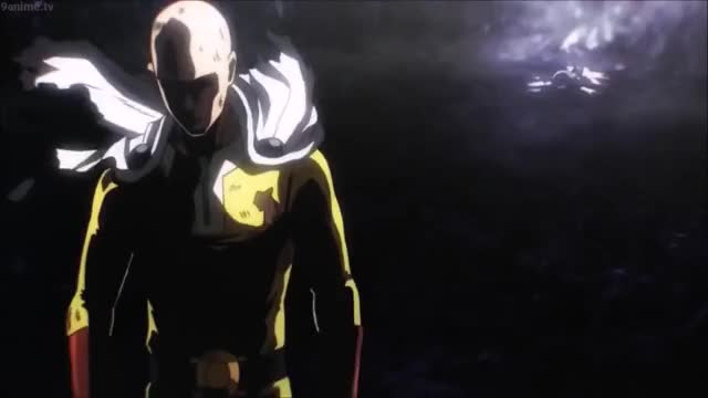 Watch Saitama vs Boros full fight English dub GIF by GilgameshThePimp (@gurgleurgle25) on Gfycat. Discover more related GIFs on Gfycat
