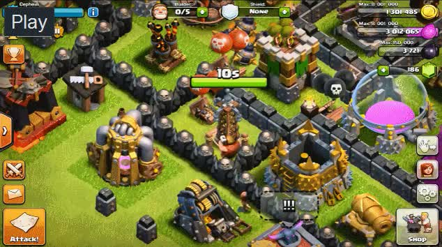 Watch [BASE] 11 months of work. (reddit) GIF on Gfycat. Discover more clashofclans GIFs on Gfycat