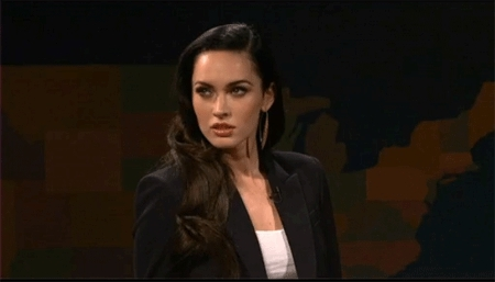 Megan Fox, Megan Fox rolls eyes. GIFs