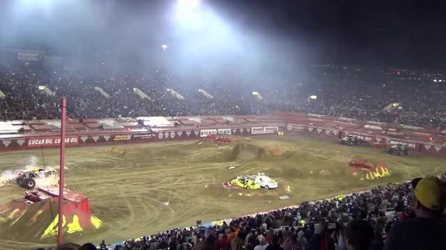 Watch and share Double Backflip GIFs and Monster Truck GIFs by SKEZ520 on Gfycat