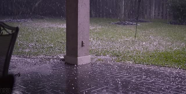 Watch Hail Storm GIF on Gfycat. Discover more weathergifs GIFs on Gfycat