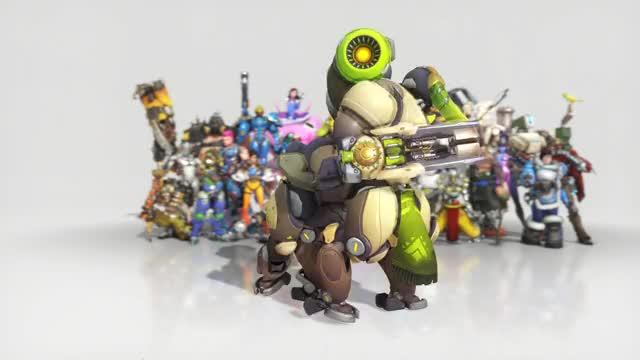 Watch OMG GIF by @sechoco on Gfycat. Discover more orisa, overwatch GIFs on Gfycat