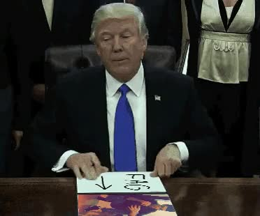 Watch Executive Orders GIF on Gfycat. Discover more donald trump GIFs on Gfycat