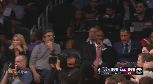 Watch and share Kobe Looking GIFs on Gfycat