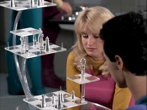 3d chess, chess, star trek, star trek tng, tng, tng s2e7, Star Trek 3D Chess GIFs