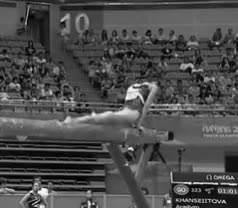 Watch and share Artistic Gymnastics GIFs and Balance Beam GIFs on Gfycat