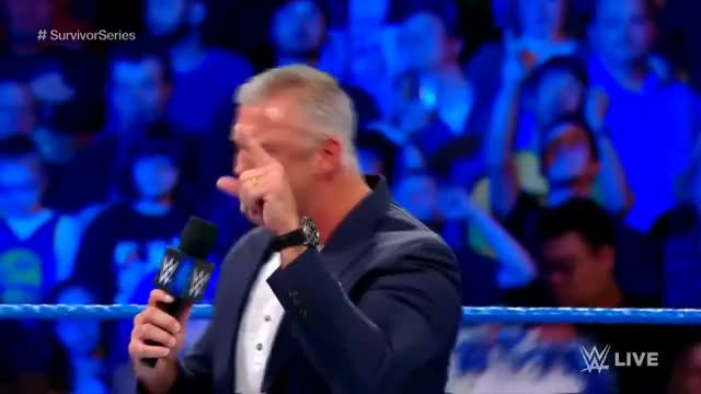 Watch and share Shane McMahon Promo, SmackDown Live 10/31/17 HD GIFs on Gfycat