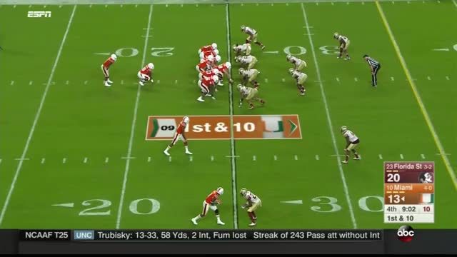 Watch Miami vs FSU Offensive Line Clip 7 GIF by @jamesdcane6 on Gfycat. Discover more canes rising, miami hurricanes, offensive line GIFs on Gfycat