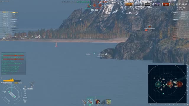 Watch REPUBLIQUE the LEGEND !!!280k-5kills. GIF on Gfycat. Discover more Gaming, WoWS Replays, World of Warships, warthunder GIFs on Gfycat