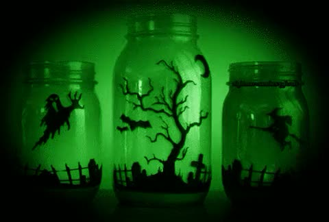 Watch and share Green Glow GIFs and Halloween GIFs on Gfycat