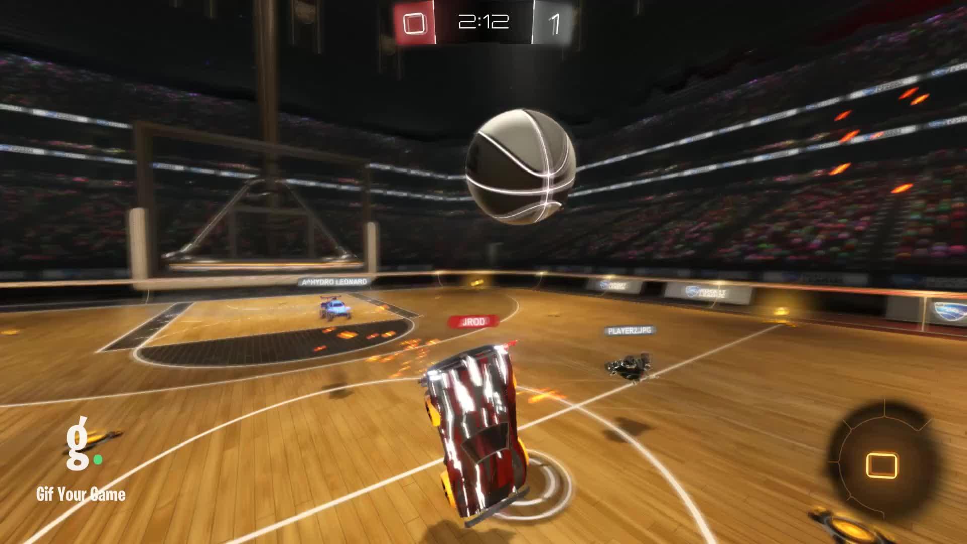 Gif Your Game, GifYourGame, HeavyUmlaut, Rocket League, RocketLeague, A careful balancing act GIFs