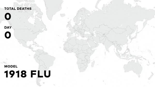 Watch and share 1918-Spanish-Flu-Spread-in-cutten-scenarios-compressor - Geospatial World GIFs on Gfycat