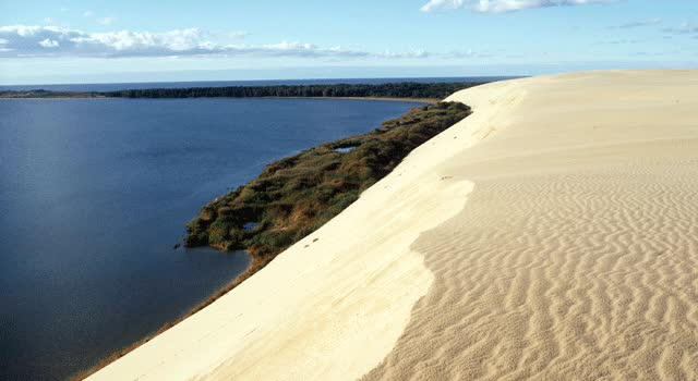 Watch and share Curonian Spit, Lithuania   Best Beaches In Europe   Favourite Beaches   Beach Tomato GIFs on Gfycat