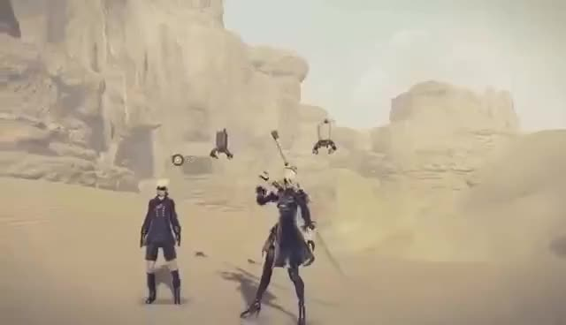 "Watch and share NieR: Automata – ""Elegant Destruction"" GIFs on Gfycat"