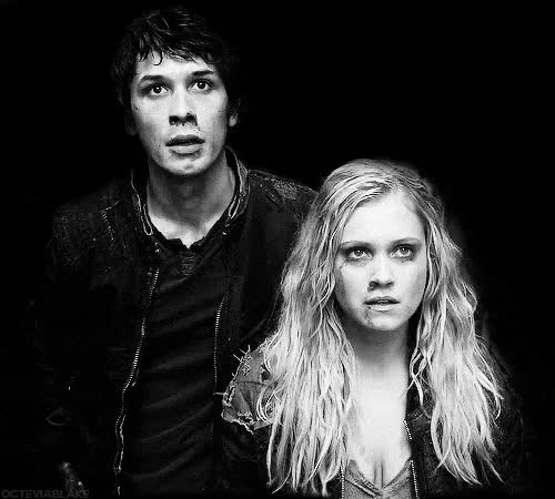 Watch and share Bellamy X Clarke GIFs and Clarke Griffin GIFs on Gfycat