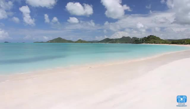 Watch and share 2 Minutes 4K Scene: Antigua Beach - Nature Relaxation™ Moment Of Zen #5 GIFs on Gfycat