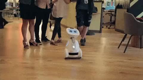 Watch Science, Technology, Culture & Art GIF on Gfycat. Discover more buddy, crowdfunding, culture, family, future, robot, robotics, technology GIFs on Gfycat
