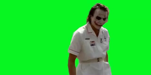 Watch joker Green Screen + Download GIF on Gfycat. Discover more related GIFs on Gfycat