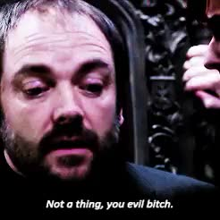 Watch Darling, what can I do? GIF on Gfycat. Discover more *, 10x10, crowley, season 10, supernatural, supernatural 10x10 GIFs on Gfycat