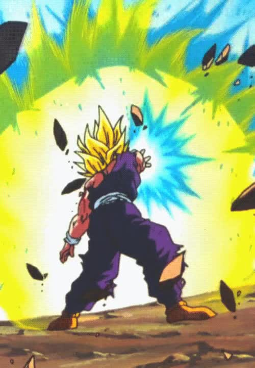 Watch and share Gif Dragon Ball Z Gohan Beast Edits GIFs on Gfycat