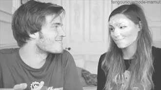 Watch and share Felix And Marzia GIFs and Pewdiepie GIFs on Gfycat