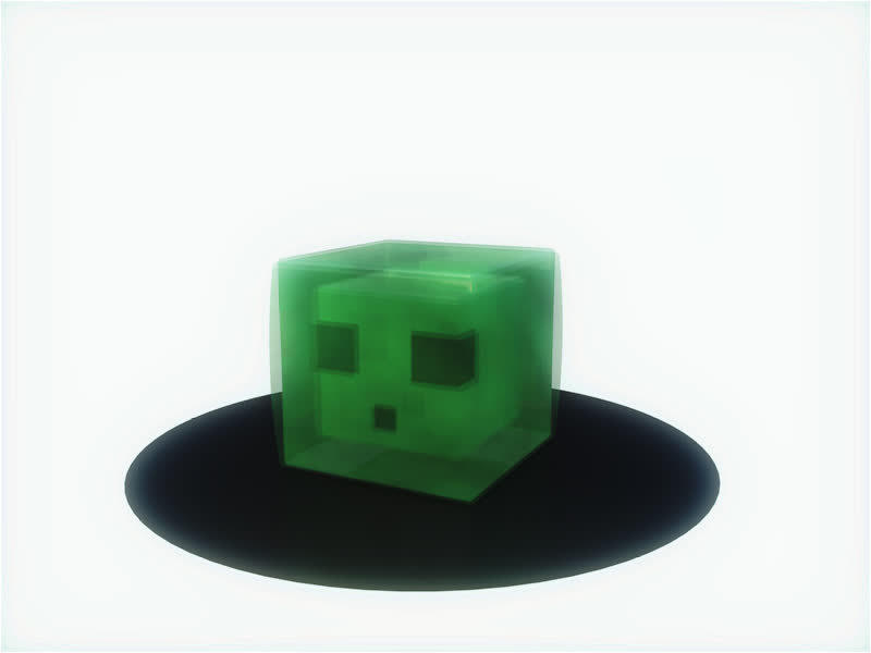 daily3d, Slime bounce GIFs