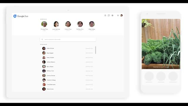 Watch and share Google Duo Device Switch GIFs by eric_g on Gfycat