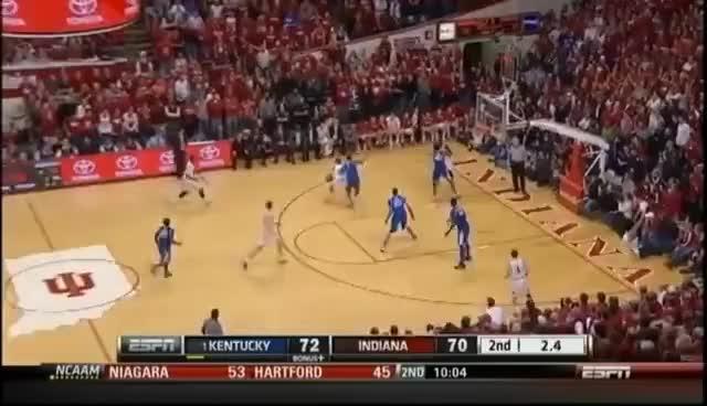 Watch and share Iu Basketball GIFs on Gfycat
