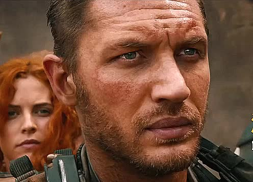 Watch and share Tom Hardy GIFs on Gfycat