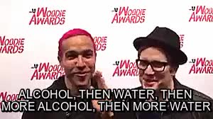 Watch and share Drink Water Kids GIFs and Patrick Stump GIFs on Gfycat