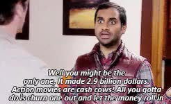 Watch and share Parks And Rec GIFs and Tom Haverford GIFs on Gfycat