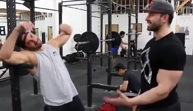 Watch Chest Workout With Bradley Martyn GIF on Gfycat. Discover more related GIFs on Gfycat