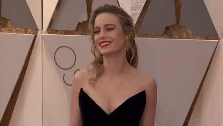 Watch and share Brie Larson • R/gentlemanbonersgifs GIFs on Gfycat