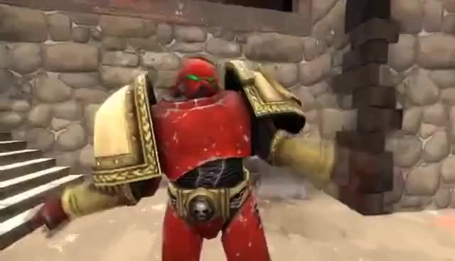 Watch and share Space Marine GIFs on Gfycat