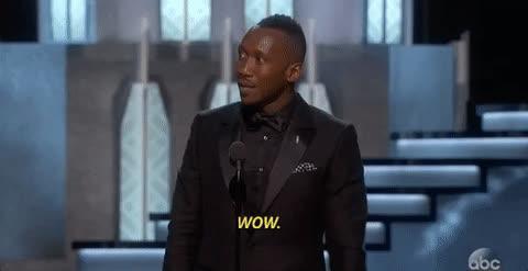 mahershala ali, whoa, woah, wow, Mahershala Ali reacts to the Oscars Best Picture mix-up GIFs