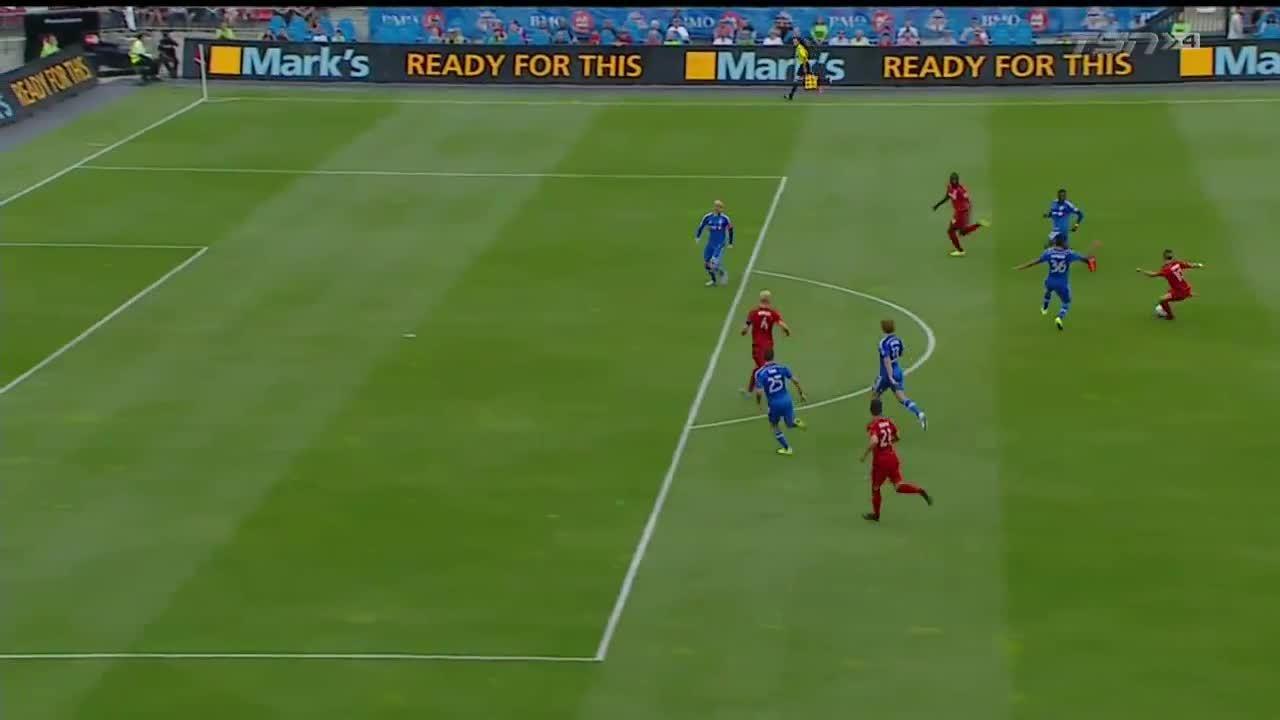 Michael Bradley Goal vs. Montreal GIFs