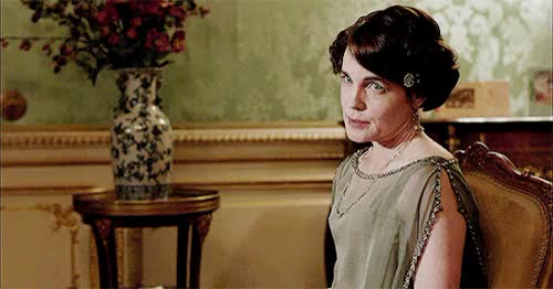 Watch this trending GIF on Gfycat. Discover more cobert, cora crawley, didn't want to mess up Cora's beautiful face, downton abbey, downtonedit, elizabeth mcgovern, had to break the chain with the last one tho, hopefully tis okay, hugh bonneville, my laptop is back, my ps skills are kinda rusted, perioddramaedit, poetry inspiration, robert crawley, this was too hard to color properly GIFs on Gfycat