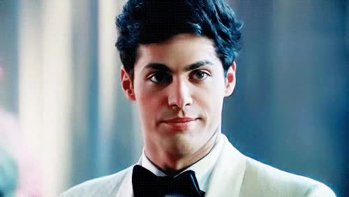 Watch and share Matthew Daddario (Alec Lightwood) GIFs on Gfycat