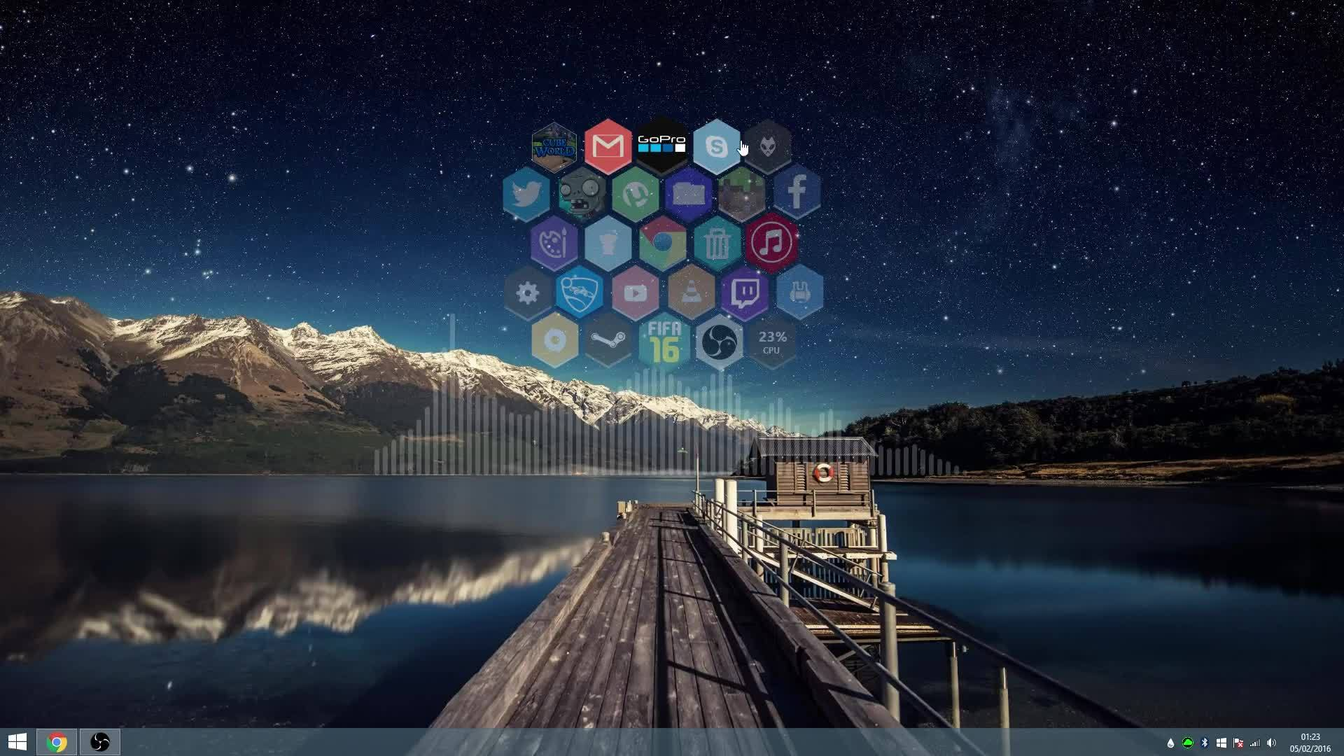 desktops, rainmeter desktop GIFs