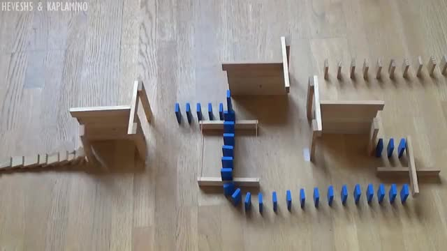 Watch UNCONVENTIONAL Domino Tricks! - Hevesh5 & Kaplamino GIF on Gfycat. Discover more related GIFs on Gfycat