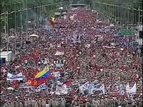 Watch and share Venezuela Marching In Support Of Maduro GIFs on Gfycat