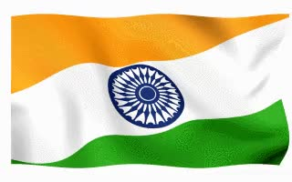 Watch and share Indian Flags Waving On White Background. GIFs on Gfycat