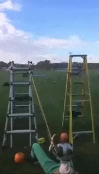 Watch Homemade Catapult,WCGW? GIF on Gfycat. Discover more related GIFs on Gfycat