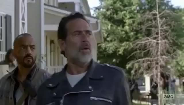 Watch The Walking Dead 7x04 Negan Meets Father Gabriel GIF on Gfycat. Discover more related GIFs on Gfycat