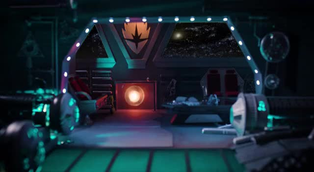 Watch and share Guardians' Spaceship Fireside Video In 4K GIFs on Gfycat